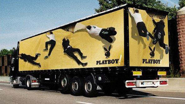 Il tir di Playboy