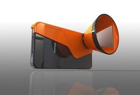 i-phone 3d cone