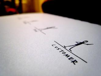 scrivere testo landing page