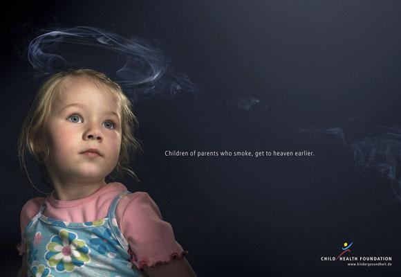 campagna anti fumo bambini