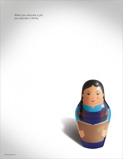 educazione femminile matrioska