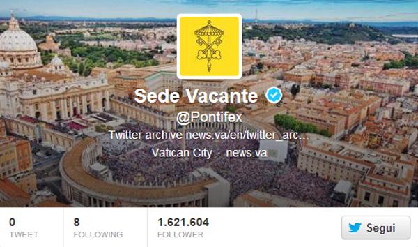 vaticano twitter