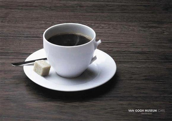 van gogh museum cafe viral photo
