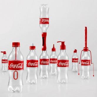 mille usi bottiglie coca cola