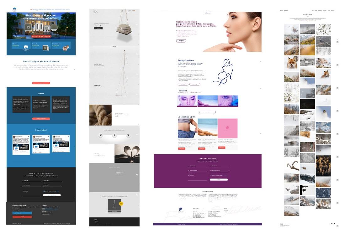 realizzazione siti web professionali wordpress sviluppo web development san marino treviso