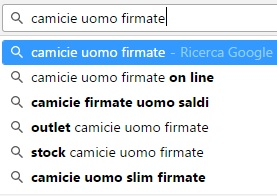 google suggest campo semantico