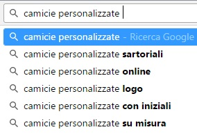 google suggest ricerche correlate