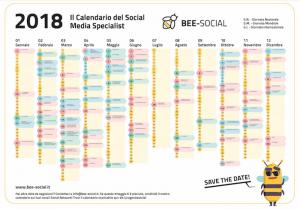 Calendario Social Media eventi