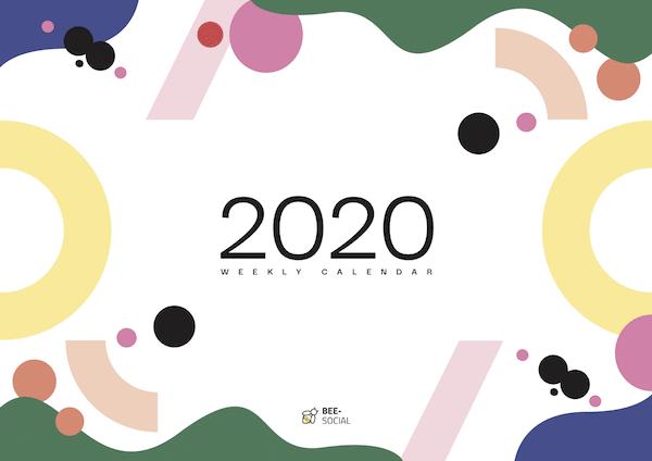 calendario social media 2020 giornate nazionali internazionali bee social