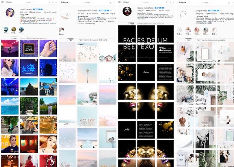 profili instagram originali