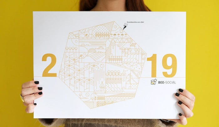 nuovo calendario social piano editoriale 2019