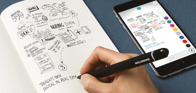 moleskin pen plus digitalizzare appunti