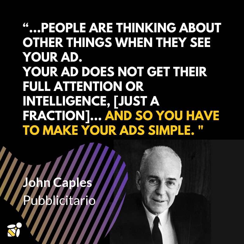 citazione john caples copywriting pubblicita