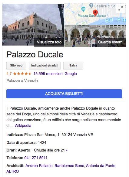 vendita prodotti servizi in scheda google my business