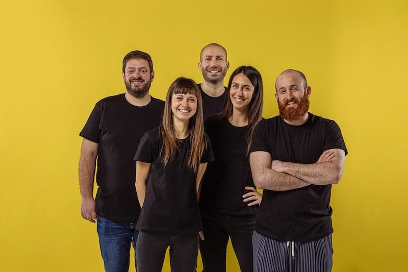 Bee Social agenzia web foto di gruppo
